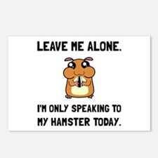 Alone Speaking Hamster Postcards (Package of 8)
