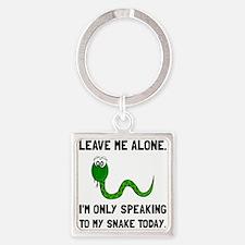 Alone Speaking Snake Keychains