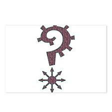 FuzzLocian Symbol Postcards (Package of 8)