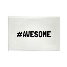 Hashtag Awesome Magnets