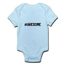 Hashtag Awesome Body Suit