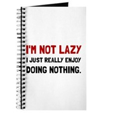 I Am Not Lazy Journal