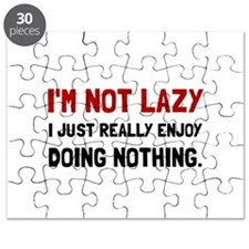 I Am Not Lazy Puzzle