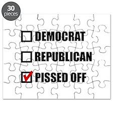 Pissed Off Voter Puzzle