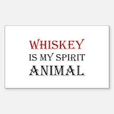 Whiskey Spirit Animal Decal