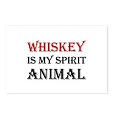 Whiskey Spirit Animal Postcards (Package of 8)