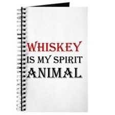 Whiskey Spirit Animal Journal