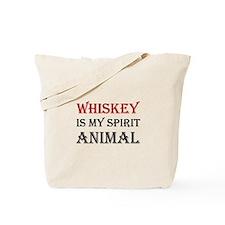 Whiskey Spirit Animal Tote Bag