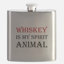 Whiskey Spirit Animal Flask