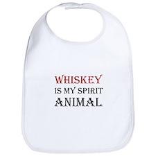Whiskey Spirit Animal Bib