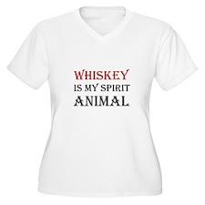Whiskey Spirit Animal Plus Size T-Shirt