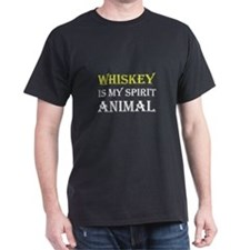 Whiskey Spirit Animal T-Shirt