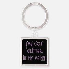 Jazzy Glitter Keychains