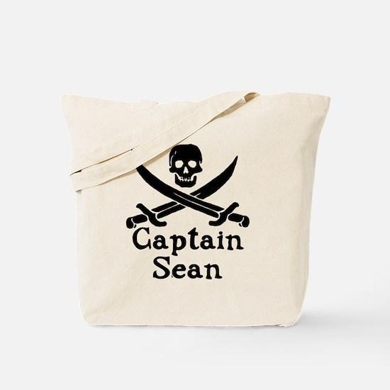 Captain Sean Tote Bag
