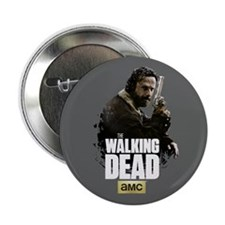 """TWD Rick Hunt or Be Hunted 2.25"""" Button"""