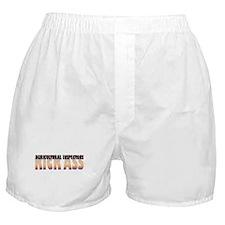 Agricultural Inspectors Kick Ass Boxer Shorts