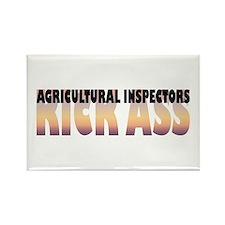 Agricultural Inspectors Kick Ass Rectangle Magnet