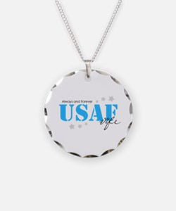 USAF Wife - Always and Forever Necklace
