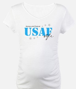 USAF Wife - Always and Forever Shirt