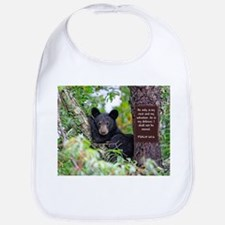 Baby Black Bear - Psalms 62-6 Bib