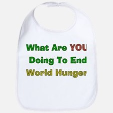 End World Hunger Bib