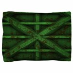 Rusty Shipping Container - green Pillow Sham