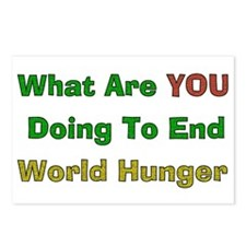 End World Hunger Postcards (Package of 8)