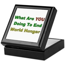 End World Hunger Keepsake Box