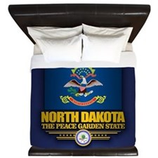 North Dakota (v15) King Duvet