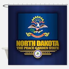 North Dakota (v15) Shower Curtain