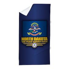 North Dakota (v15) Beach Towel
