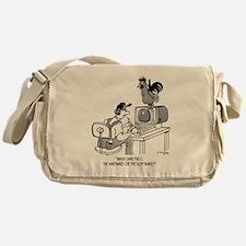 Chicken Cartoon 2372 Messenger Bag