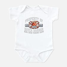 DEADLIEST CRABS Infant Bodysuit