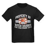 Deadliest catch Kids T-shirts (Dark)