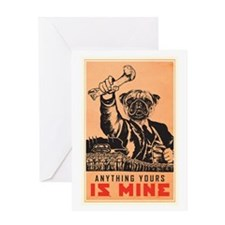 All Is Mine Greeting Card