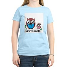 Owl Never Give Up (Dysautonomia) T-Shirt