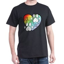 Rainbow Bridge Heart T-Shirt