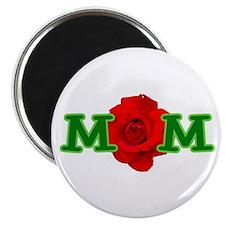 Mom Rose Magnet