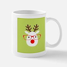 Hipster Reindeer Mug
