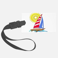 Sun and Sails Luggage Tag