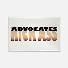 Advocates Kick Ass Rectangle Magnet