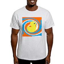 Rubber Duck Orange Blue T-Shirt