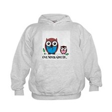 Owl Never Give Up (Dysautonomia) Hoodie