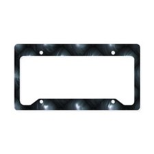 Lounge Leather - Black License Plate Holder
