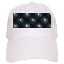Lounge Leather - Black Baseball Cap