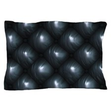 Lounge Leather - Black Pillow Case