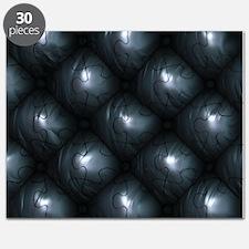 Lounge Leather - Black Puzzle