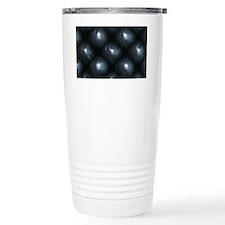 Lounge Leather - Black Travel Mug
