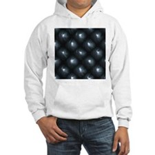 Lounge Leather - Black Hoodie