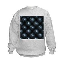 Lounge Leather - Black Sweatshirt